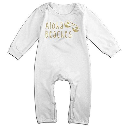 Aloha Beaches Sunglasses Fashion Infant Creeper Long Sleeve - Nyc Sunglasses Cheap