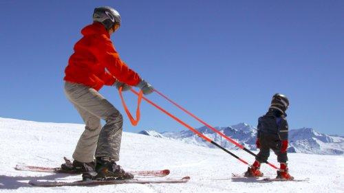 309461 Copilot Ski Trainer Learn To Ski Harness To Teach Kids To Ski