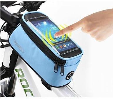 ROSWHEEL Bolsa de manillar MTB bicicleta de carretera ciclismo ...