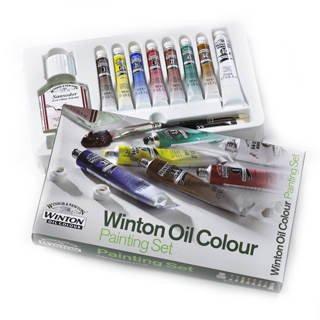 Winsor & Newton Winton Oil Colour Painting Set (Newton Oil Colour)