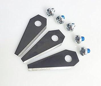1/5/10 unidades BOSCH Indego Robot cortacésped cuchillas de repuesto cortadora de césped