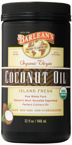 Barleans Organic Virgin Coconut Ounce