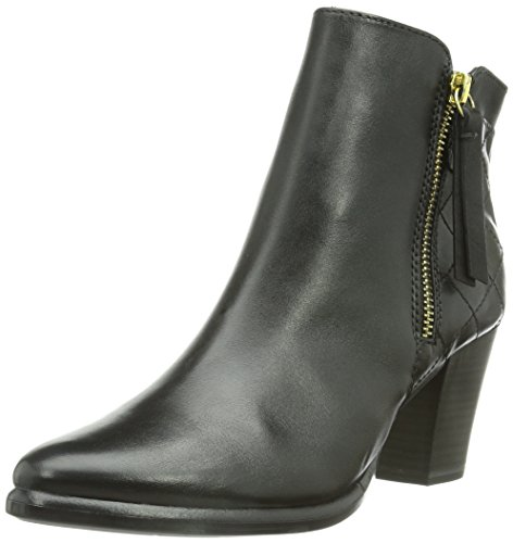 Tamaris 25339 Damen Kurzschaft Stiefel Mehrfarbig (Black 001)