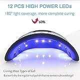 UV Led Nail Lamp 48W with 4 Timer