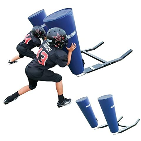 BSN Sports 3 Man Youth Sled - Cone Pad - Royal Sold Per EACH