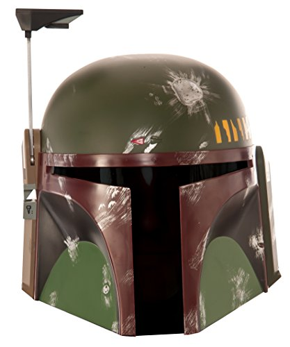 Star Wars Men's Boba Fett Mask, Multi, One Size (Fett Helmet)