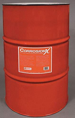 Corrosionx Lubricant - Corrosion Inhibitor, Wet Lubricant Film, 200F Max. Operating Temp, 55 gal. Drum