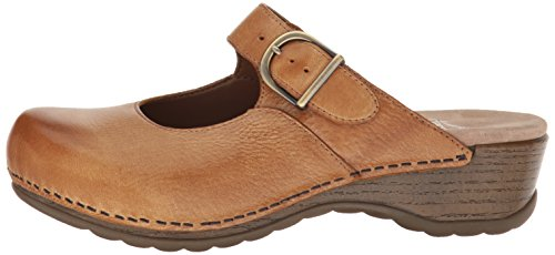 Dansko Women's Martina Mary Jane Flat, Honey Distressed, 40 EU/9.5-10 M US by Dansko (Image #5)