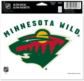 NHL Minnesota Wild Ultra Color Decal, 5