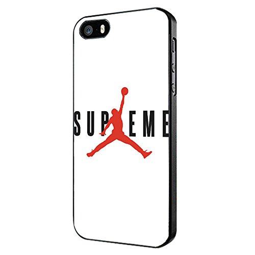 Supreme x Jordan White Jumpman for iPhone Case (iPhone 5/5s black)