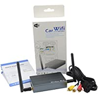 Mirabox Car WiFi Mirrorlink Box,Wireless Airplay, Miracast, Allshare Cast, Screen Mirroring for Smart Phones, RCA Output for Car Video