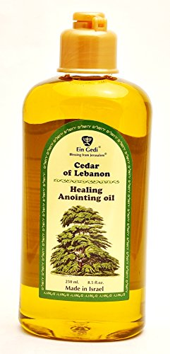 Healing Anointing Oil Cedar of Lebanon 250 ml - 8.5fl oz.From Holyland Jerusalem (250ml)