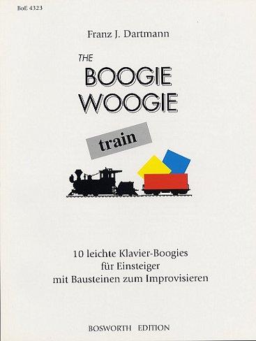 The Boogie Woogie Train: Lehrmaterial, Songbook für Klavier