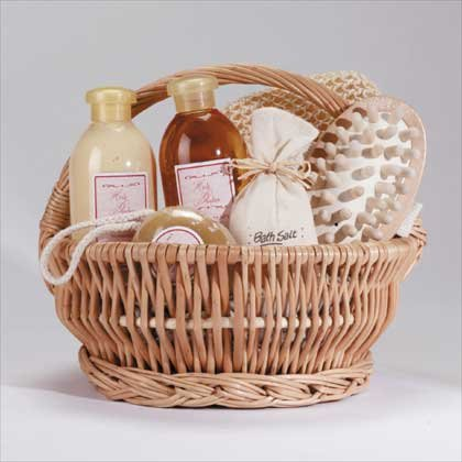 Gingertherapy Bath Set - Style 34185 by Gift Warehouse