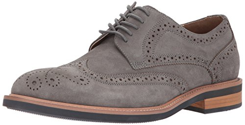Kenneth Cole REACTION Men's Design 20631 Oxford, Grey, 12 M US