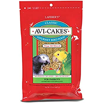 What Are The Ingredients For Avi Cakes Bird Food