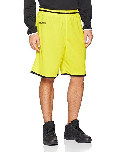 Uomo Nero Pantaloncini Move Limone Spalding Giallo Da WTRqnx