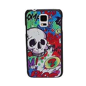 NEW Elonbo J10C32 Cool Skulls Hard Back Case Cover for Samsung Galaxy S5 I9600