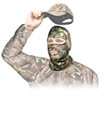 The VISTA OUTDOOR SLS - PRIMOS Hood Stretch Fit Mask is the perfect head piece to add to your hunting gear.