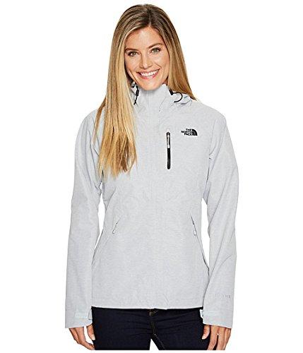 (ザノースフェイス) THE NORTH FACE レディースコートジャケットアウター Dryzzle Jacket [並行輸入品] B07544T1FT XL (XL)|TNF Light Grey Heather/TNF Black TNF Light Grey Heather/TNF Black XL (XL)