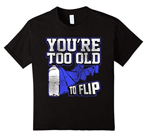 kids-water-bottle-flip-challenge-school-trend-too-old-to-flip-tee-12-black