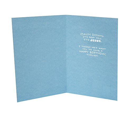 Hallmark Shoebox Funny Birthday Card Jesus