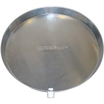 Rheem Ap12934 Plastic Water Heater Drain Pan With Fittings
