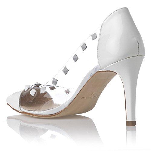 Laura Moretti Stilettos - De salón Mujer Blanco