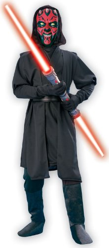 [Star Wars Darth Maul Costume Deluxe Boy - Large] (Child Darth Maul Costumes)