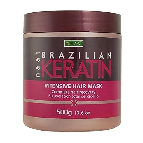 gamme de couleurs exceptionnelle Beau design profiter de prix bas kératine des cheveux Masque Intensif 176 onces Nunaat Brzazilian