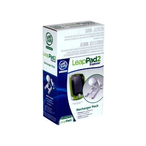 LeapFrog LeapPad2 Recharger Pack (Works with all LeapPad2 Tablets)