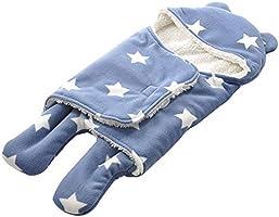 Manta para Beb/é Reci/én Nacido 0 a 6 Meses Suave y C/álido Franela de Invierno Sacos para dormir Ni/ña y Ni/ño Miyanuby Saco de Dormir para Beb/és