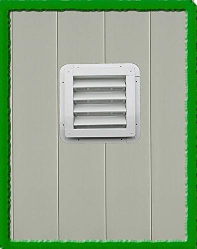 Apple Outdoor Supply SHED VENT-8x8 (BROWN) by Apple Outdoor Supply