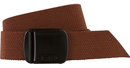 BETTA Mens Elastic Stretch Belt (Large, Brown)