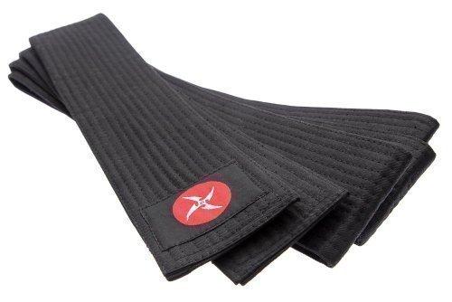 Aikido Cintur/ón Negro 100/% Algod/ón Suave Negro de 320cm x 8cm de Ancho para Kendo Shihan Kimono