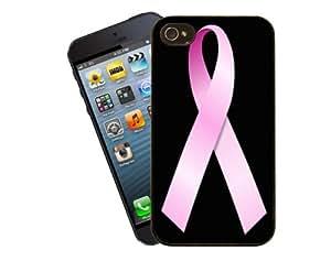 Mama cáncer caridad ayuda teléfono caso para Apple iPhone 4 / 4s - cubierta por Eclipse regalos