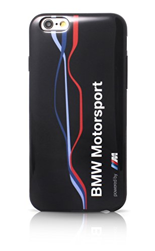BMW Motorsport Raceway TPU Case Twisted Tricolor Stripe for iPhone 6 Plus/6S Plus - Navy