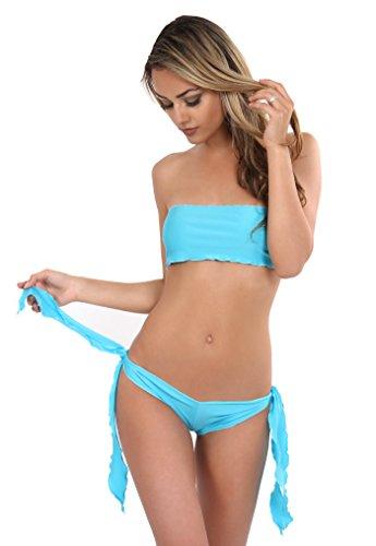 Hot À Top Nouer Turquoise Pants Annsfashion Bandeau qCwEx0EF