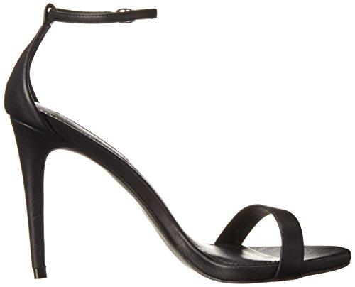 Femme Madden Black Plateforme Stecy Noir Steve Sandales RqAw4