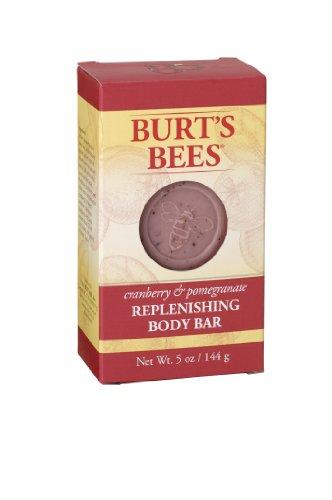 Burt's Bees Cranberry & Pomegranate Body Bar, 5 Ounces, (Pack of 3)