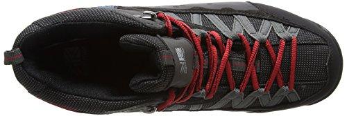 Homme Red Chaussures Mid Karrimor Black Randonnée de Spike II Noir Hautes Weathertite nP4q87wU8x