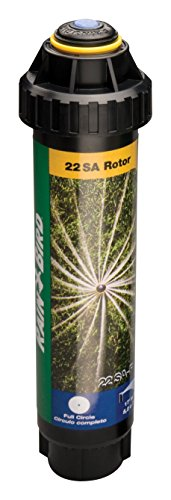 Rain Bird 22SAF Mini Rotary Pop-Up Spray, 360° Full Circle Pattern, 18' - 24' Spray Distance, 4