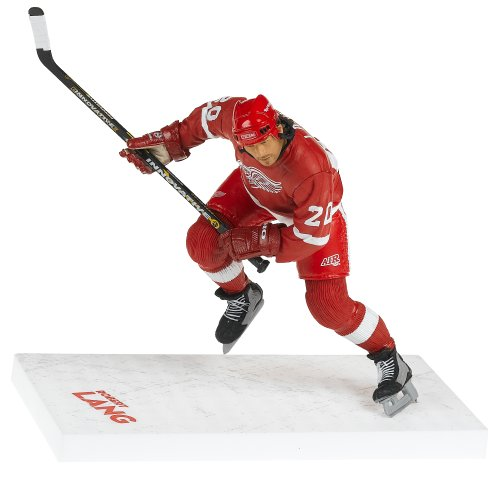 Variant Red Jersey - McFarlane Toys NHL Sports Picks Series 10 Action Figure Robert Lang (Detroit Red Wings) Red Jersey Variant