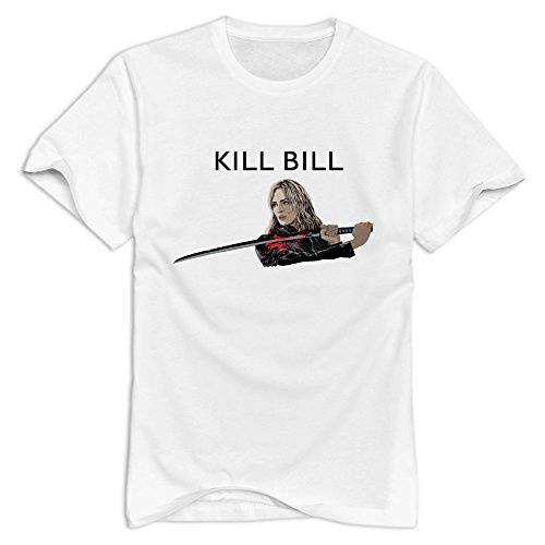 Kill Bill Very Casual White Tshirt For Guys Size XXL