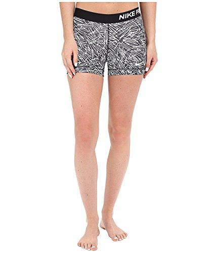 Nike Women's Pro Cool Palm Print 3'' Shorts by NIKE