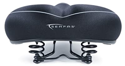 Serfas Full Suspension Cruiser Bicycle Saddle