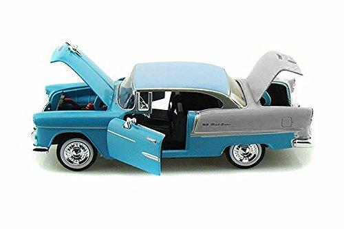 Motor Max 1:24 W/B American Classics - 1955 Chevrolet BEL AIR Hard TOP