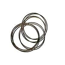 eli k Womens Gold Plate Interlocking Skinny Bracelet (10 )