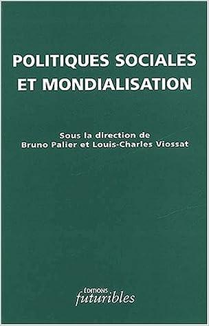 Téléchargement Politiques sociales et mondialisation pdf, epub