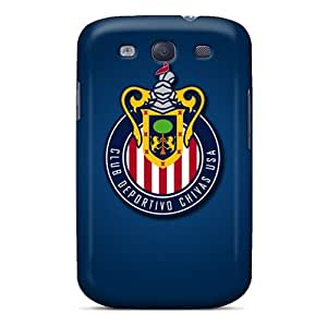 Shock Absorption Hard Phone Covers For Samsung Galaxy S3 With Custom Trendy Cd Chivas Usa Series WandaDicks